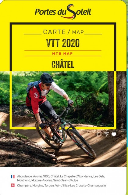 Châtel and Portes du Soleil MTB map 2020