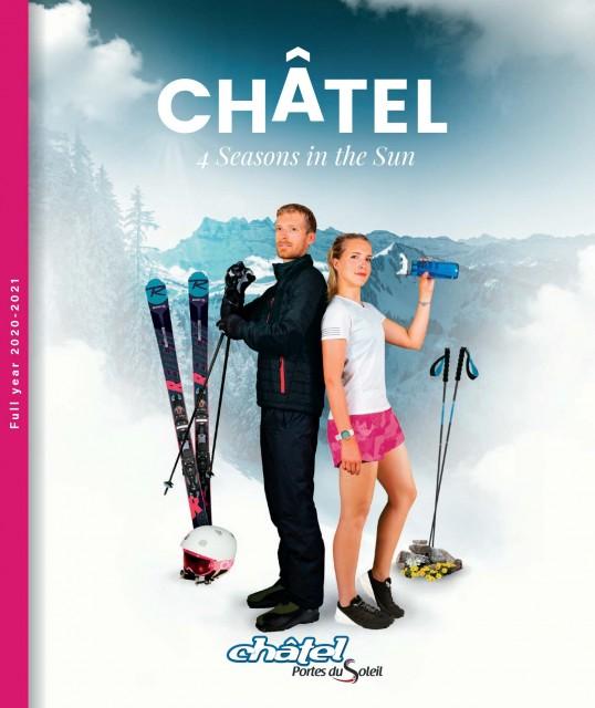Châtel's annual brochure 2021