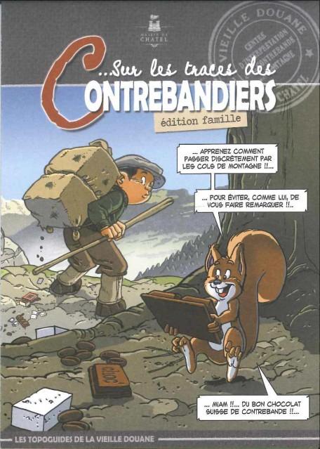 Topo guide Sentier des Contrebandiers - Famille