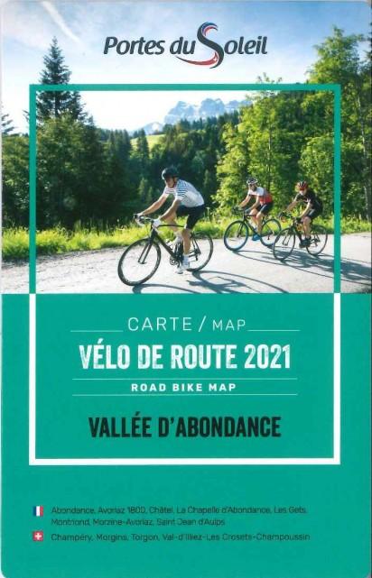 Road bike map