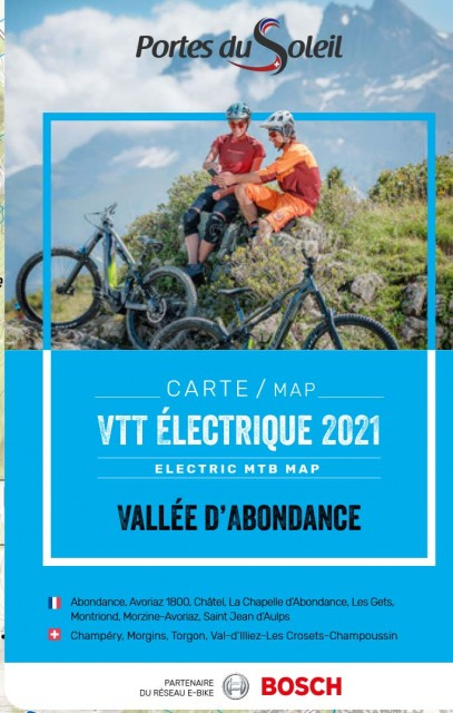Circuits VTT électrique Vallée d'Abondance été 2021