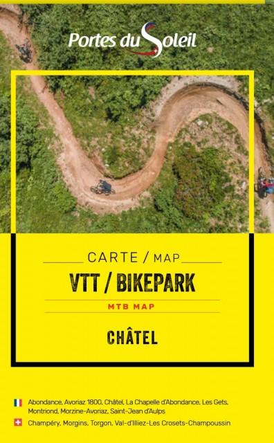 Châtel and Portes du Soleil MTB map 2021