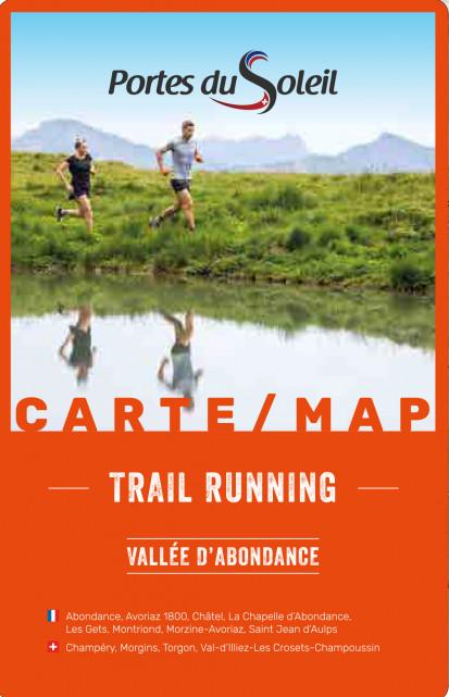 Trail running kaart zomer 2021