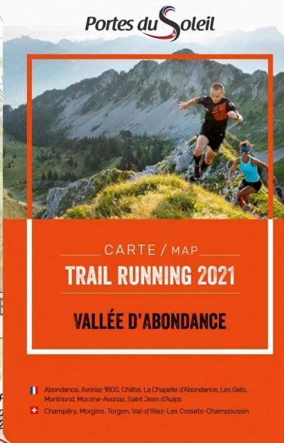 Trail running map summer 2021
