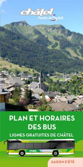 Châtel shuttles schedule summer 2021