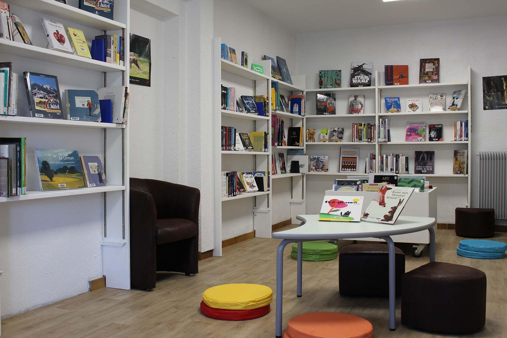Châtel Bibliotheek