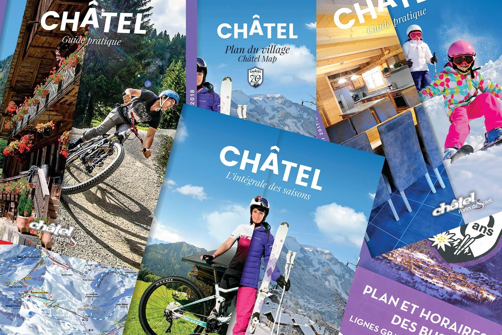Brochures, maps