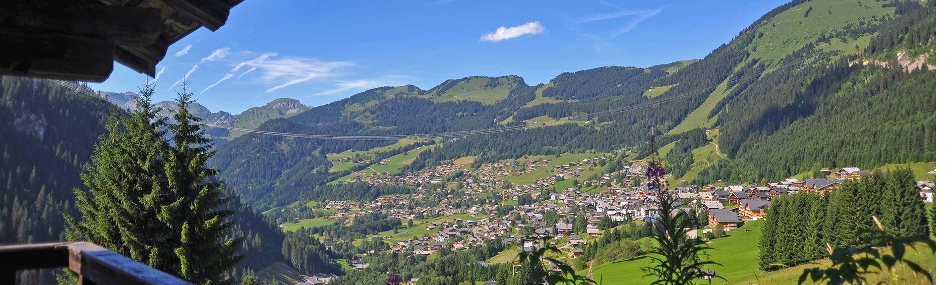 Châtel village