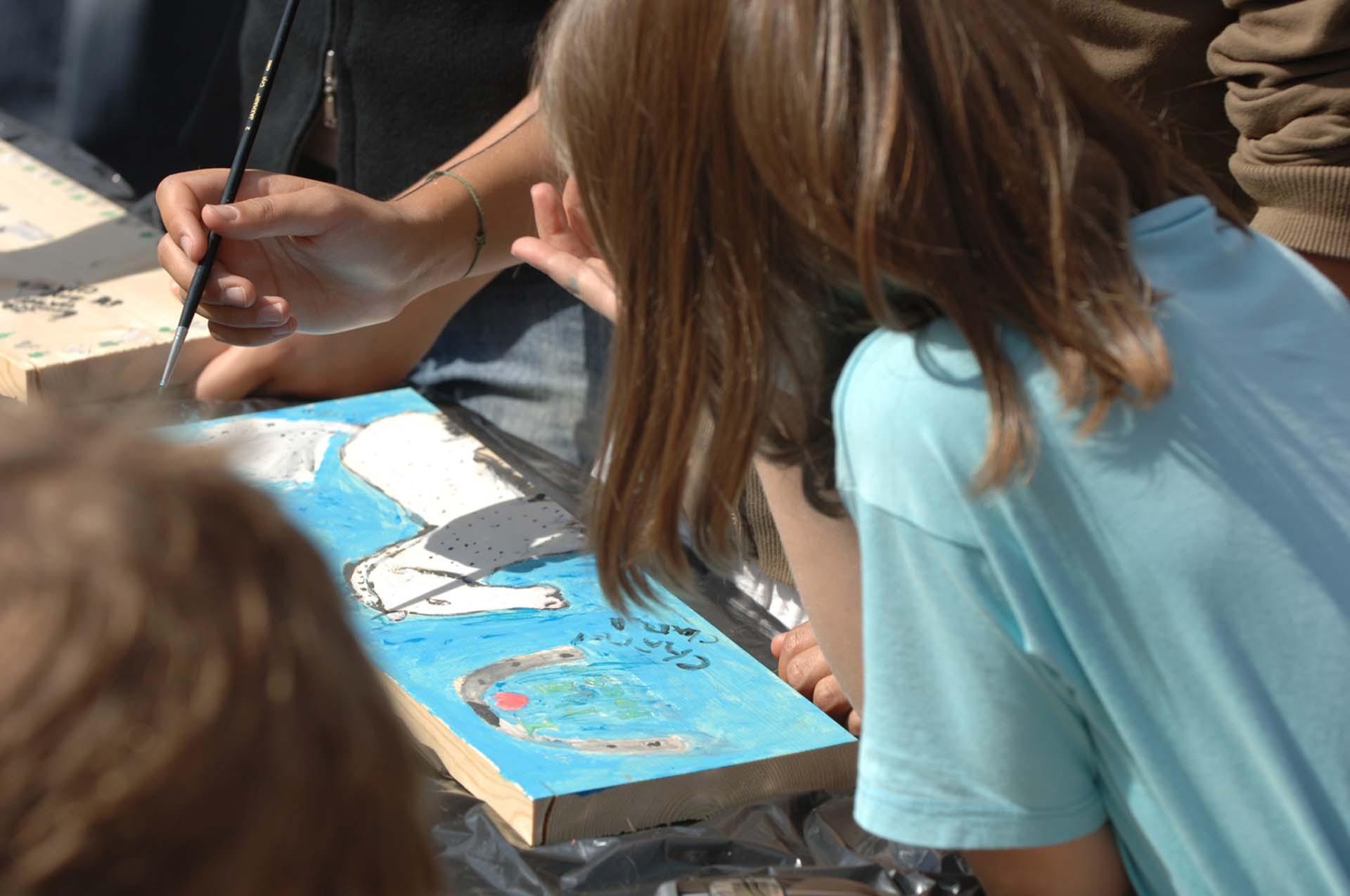 Spelletjes en workshops voor kinderen