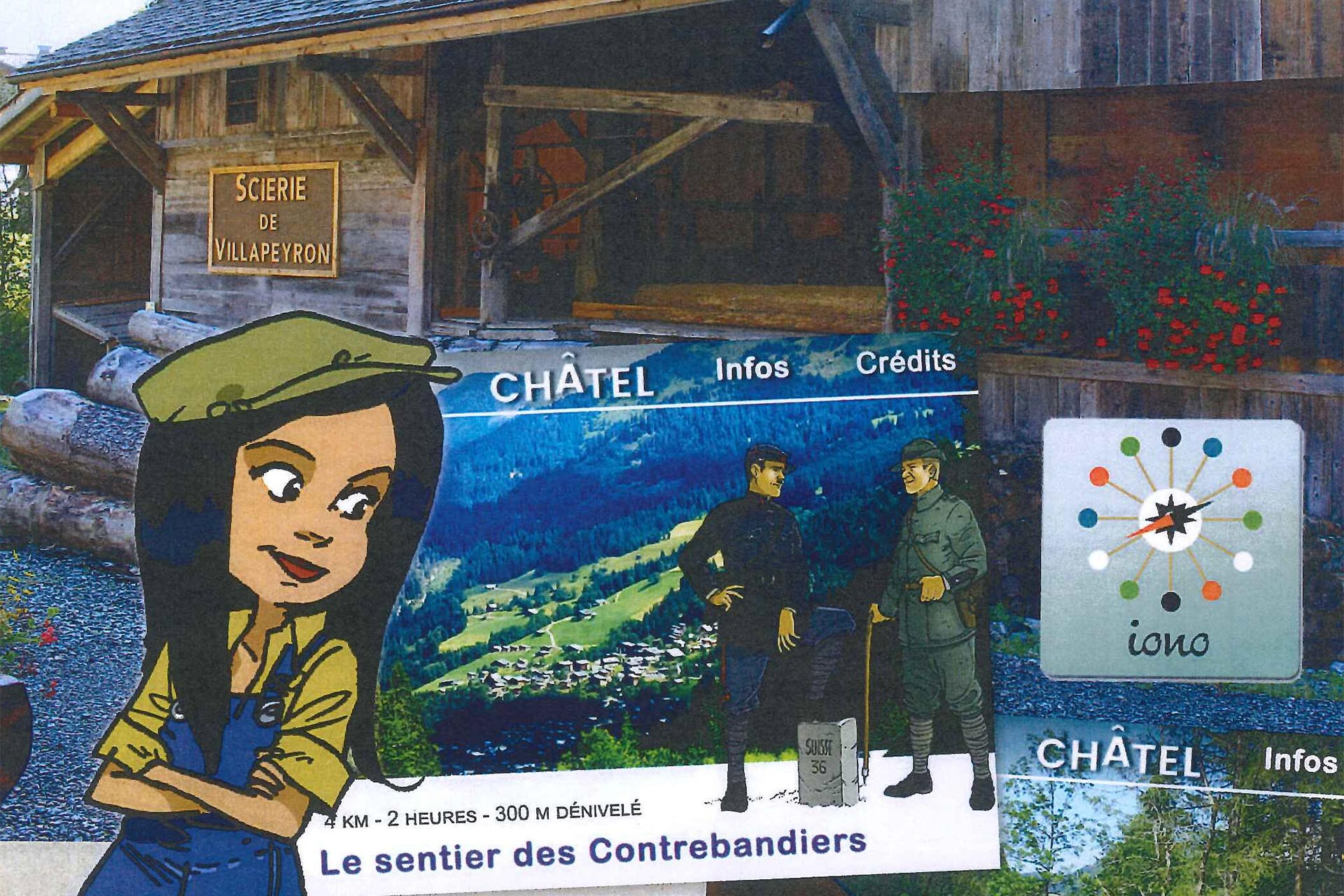 Discover Châtel with Chloé