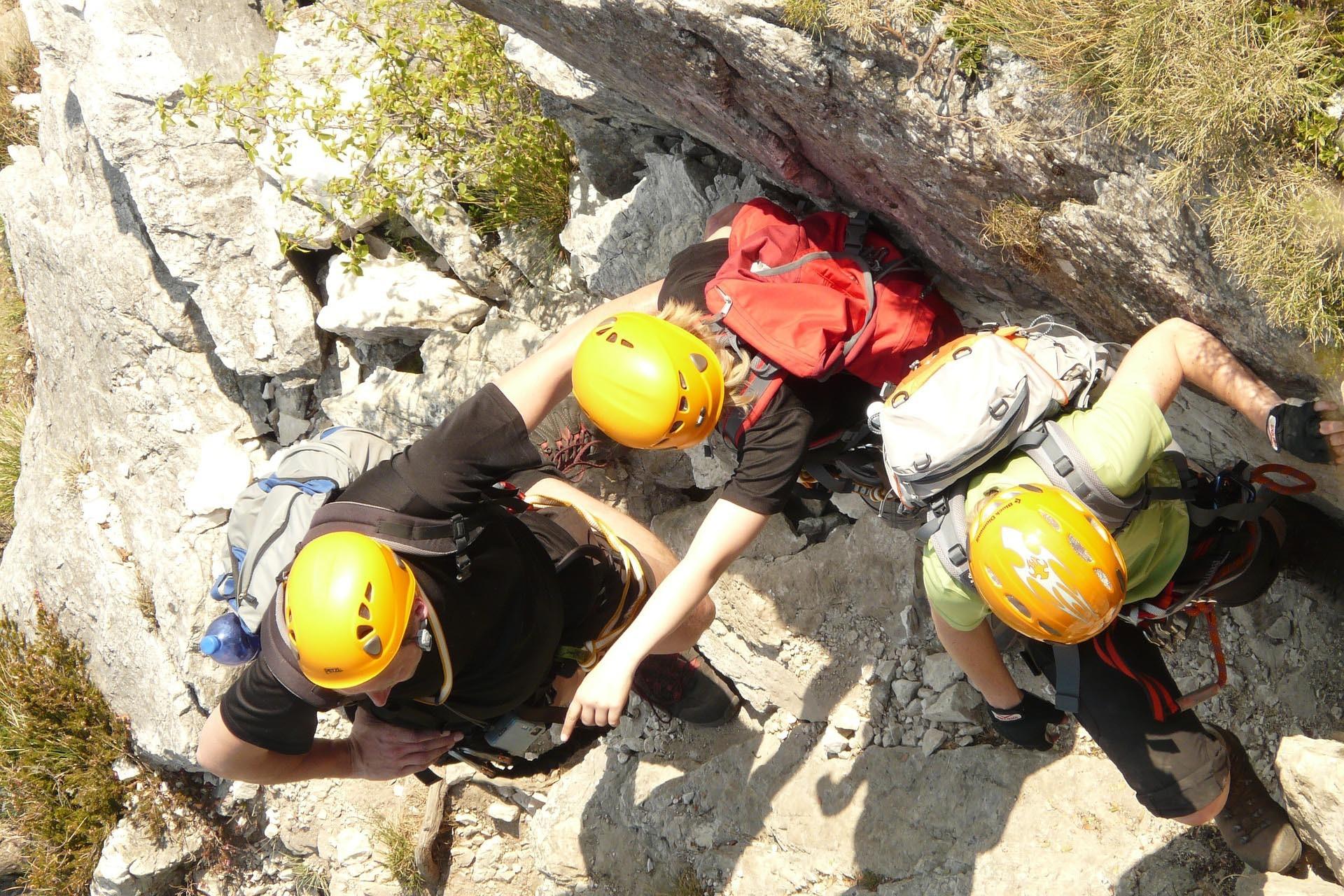 Climbing instruction