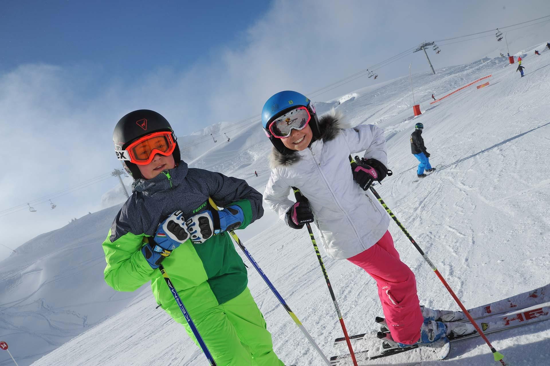 Ski lessons + daycare