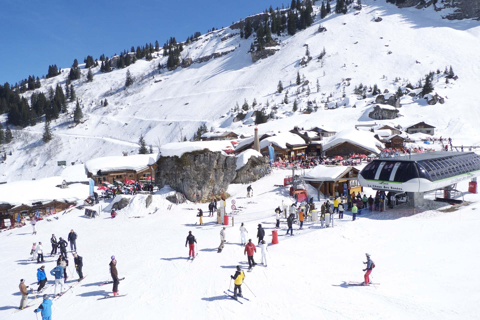 Je suis une école de ski