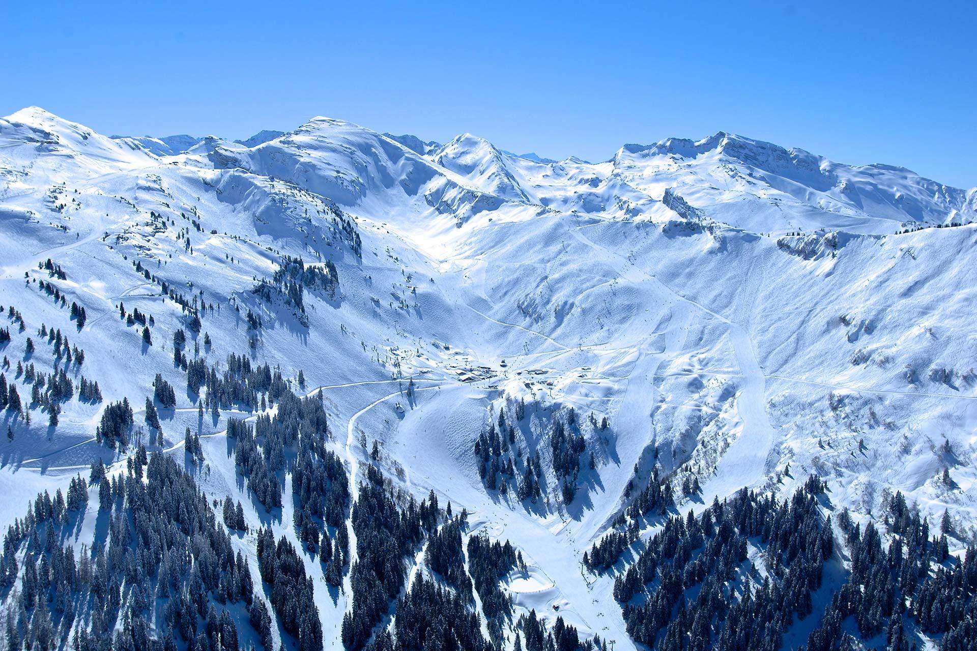 Accessible ski area
