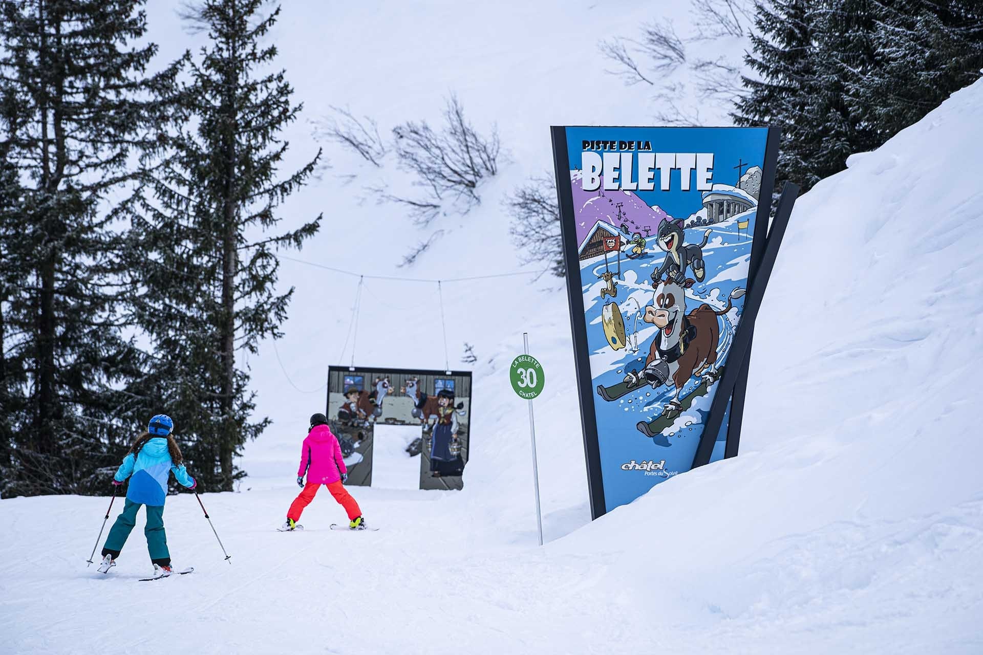 The fun slope Belette