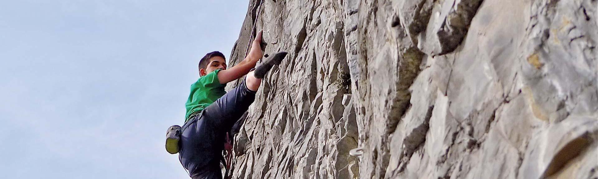 Escalade, Alpinisme