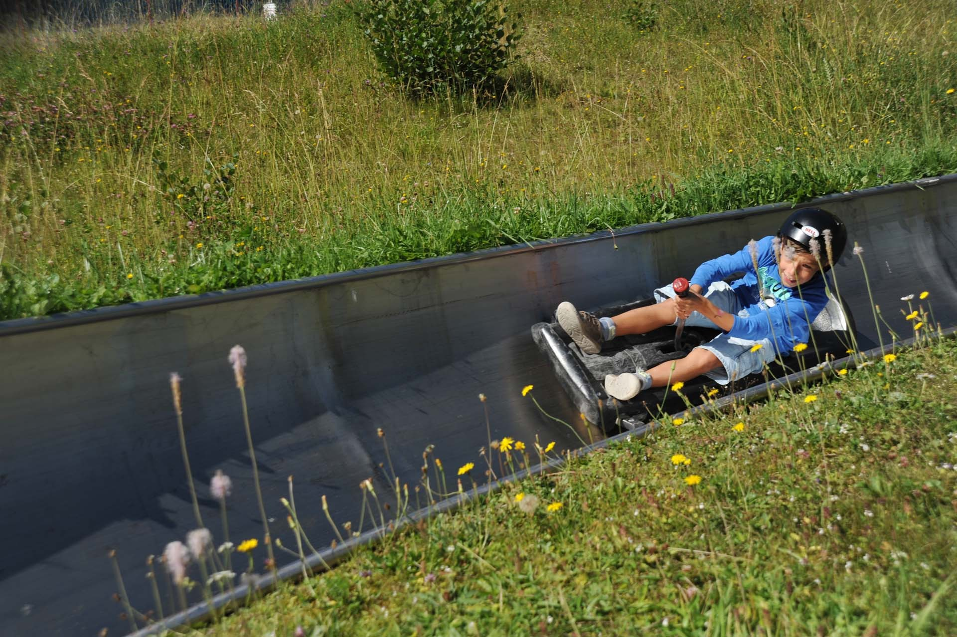 Downhill fun in summer