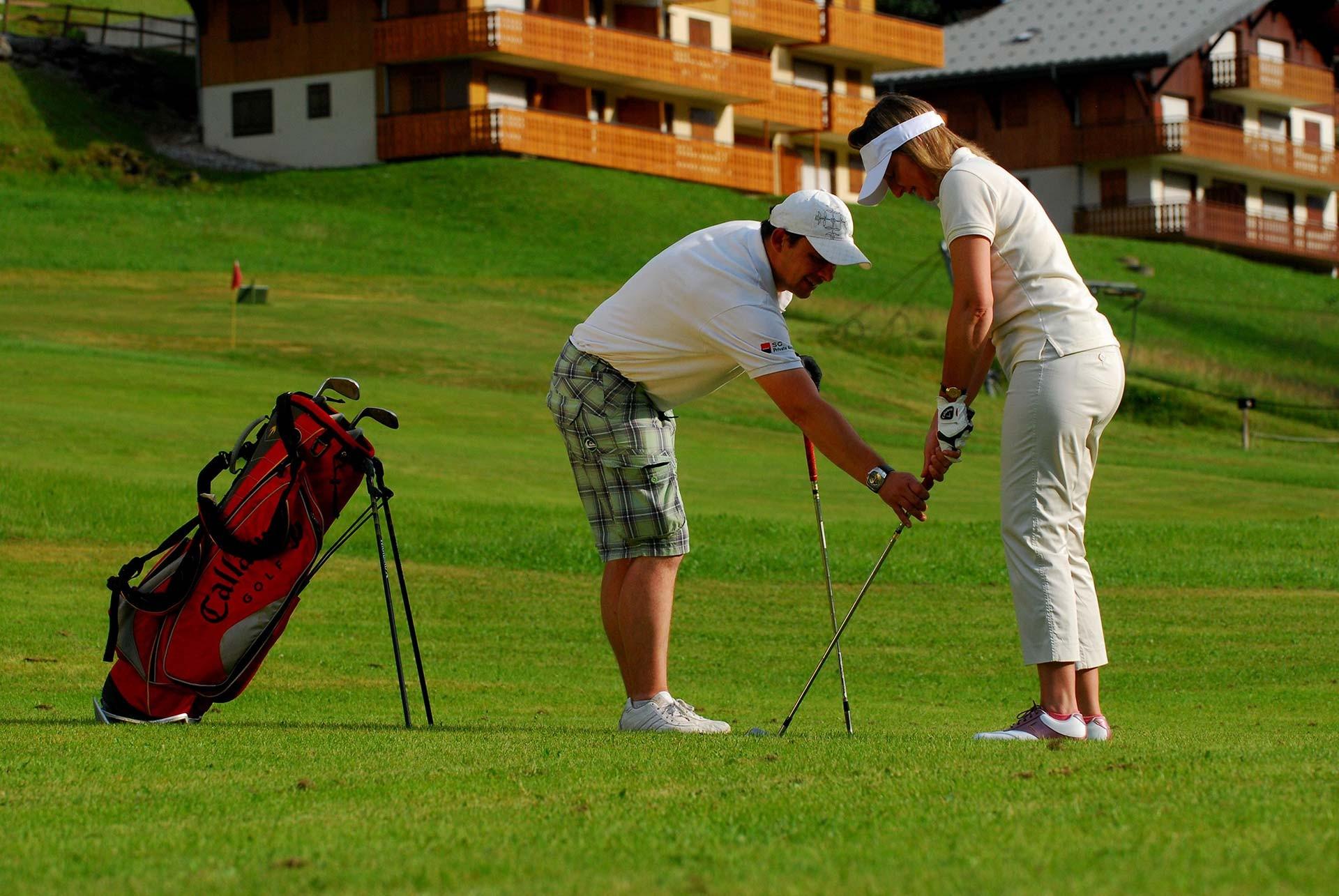 Compacte Golf met 6 holes