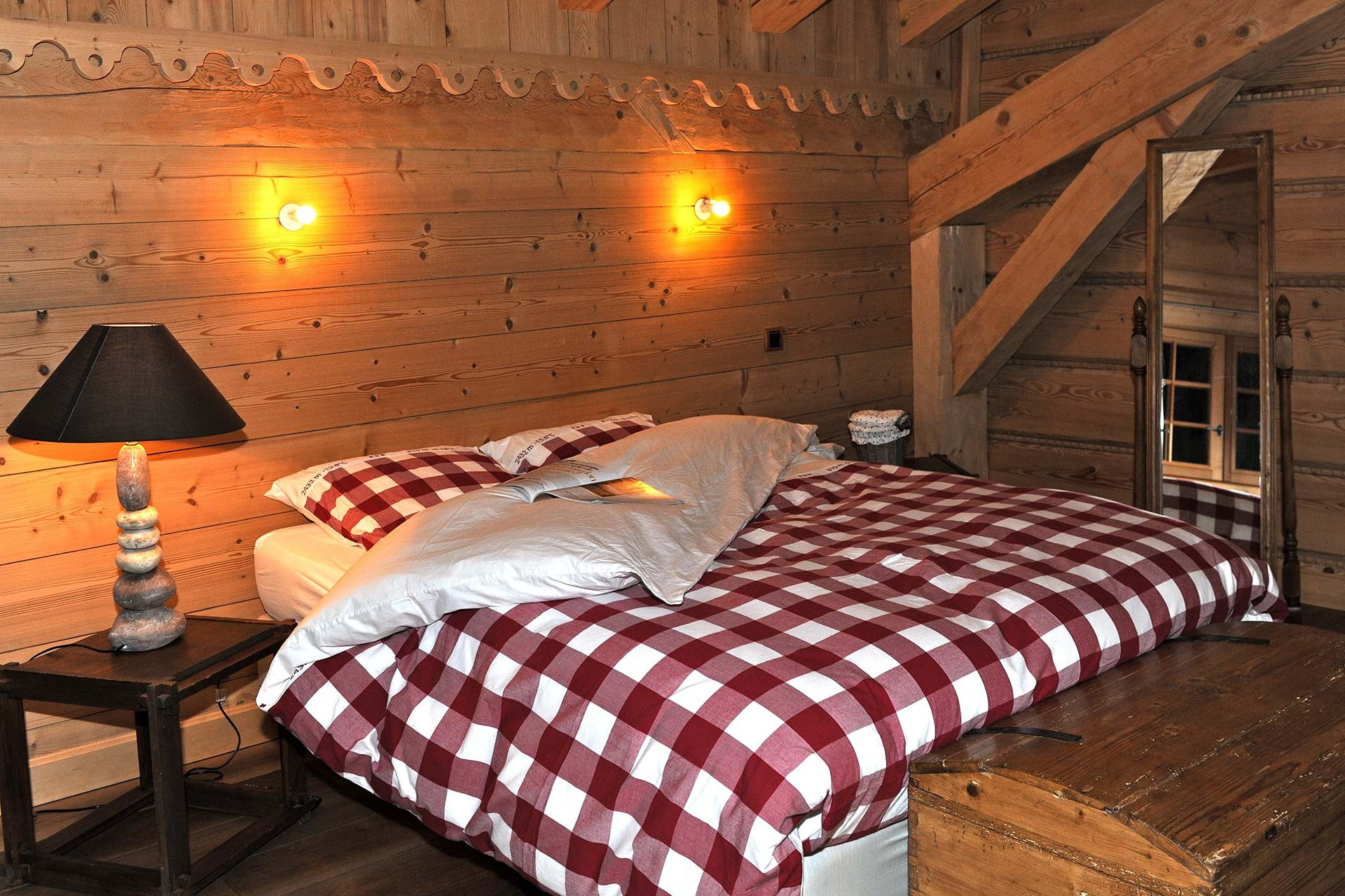 Accommodations with adapted rooms