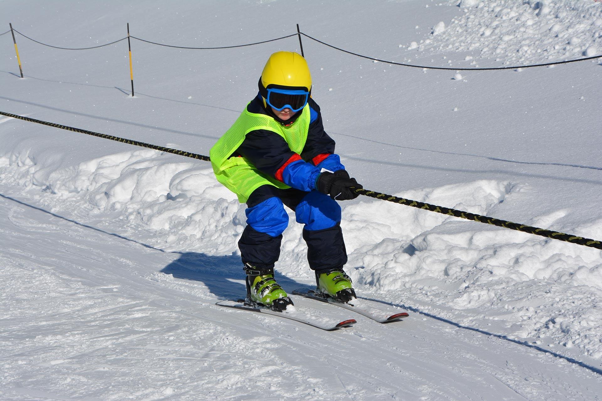 Skicholen voor kinderen