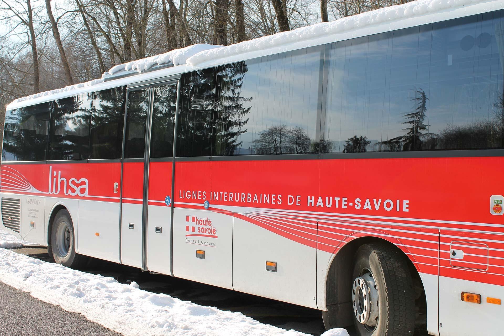 Châtel - Thonon bussen