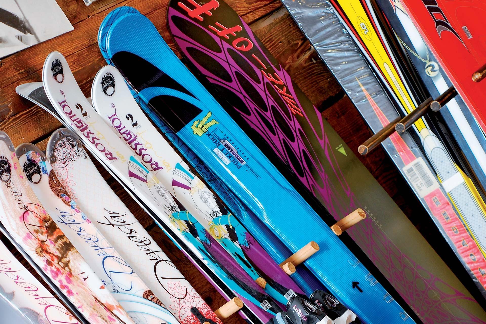 Ski rental, ski sales, ski lockers