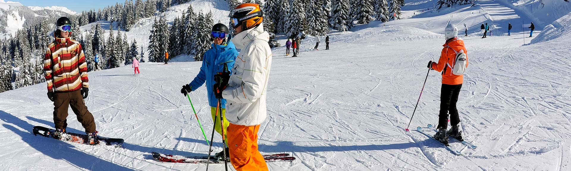 Locations, Ventes, Consignes à skis