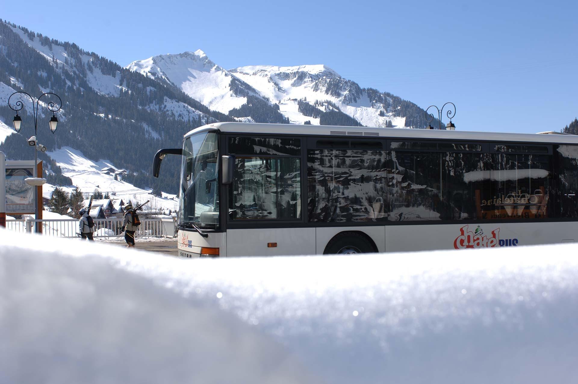 Navettes et bus services pratiques office de tourisme ch tel - Office de tourisme chatel 74 ...