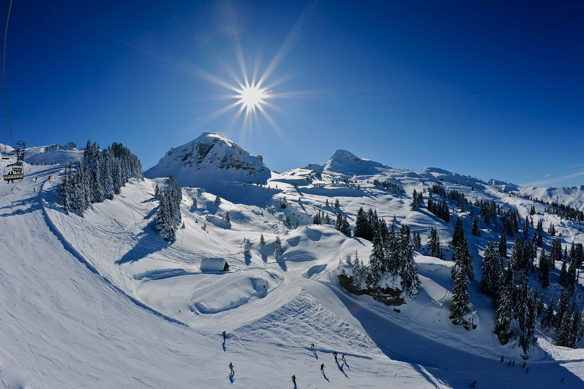 Opening dates & times of the ski area