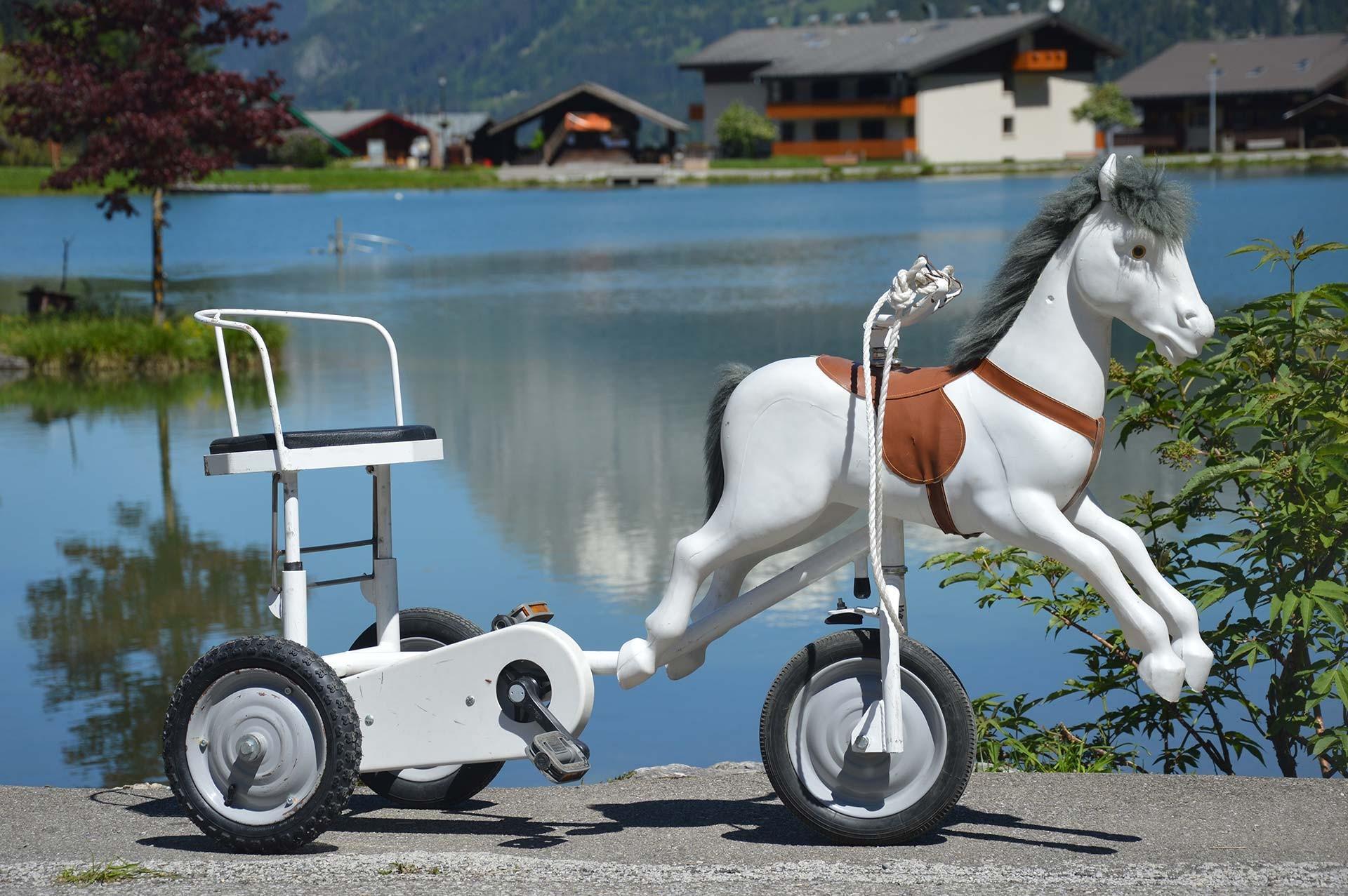 Paarden met pedalen