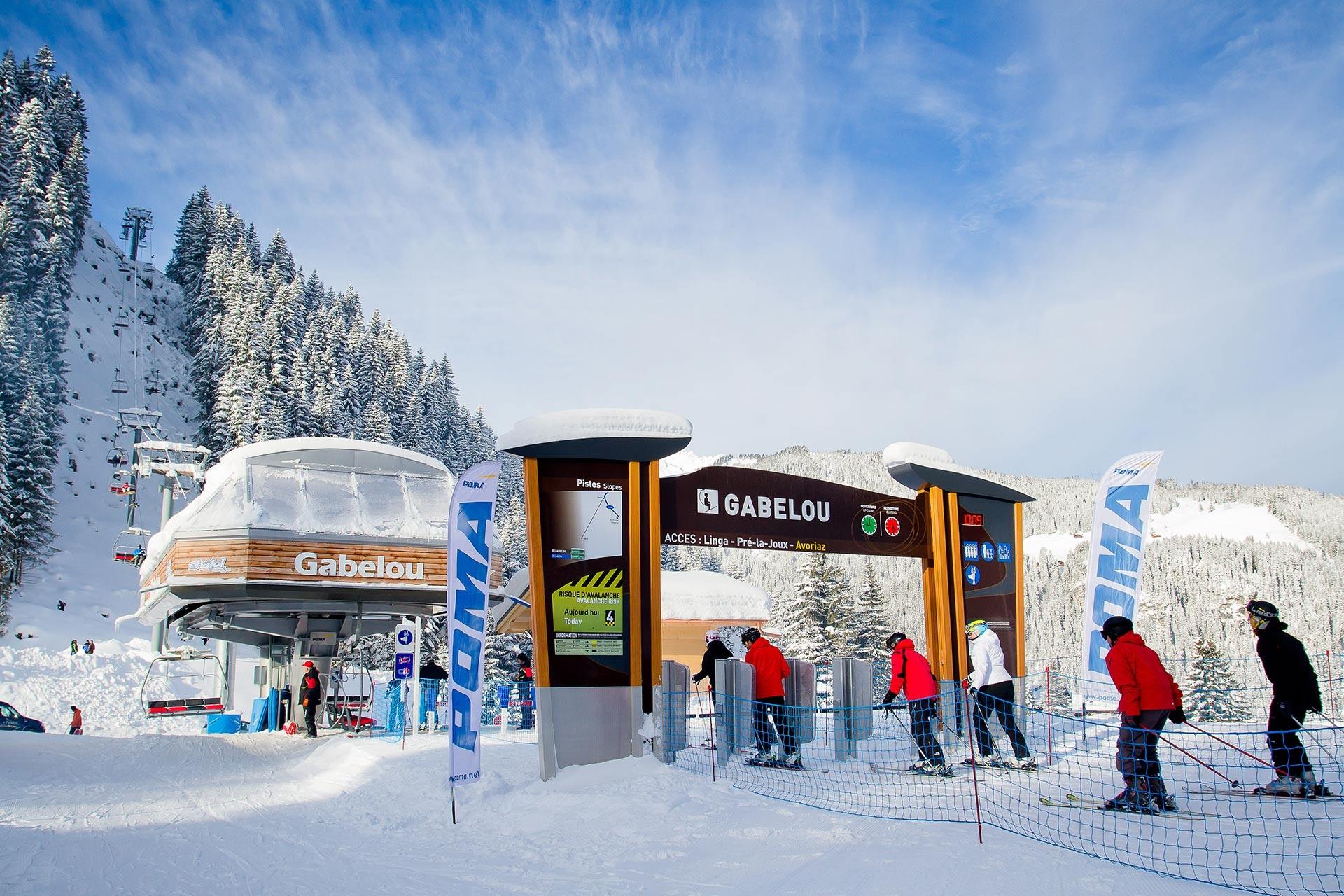 Ski passes for family