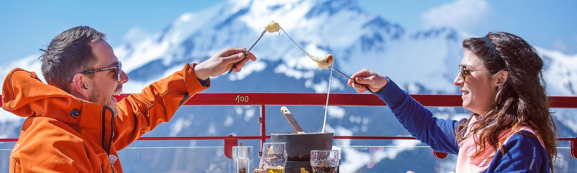 Restaurants op de pistes