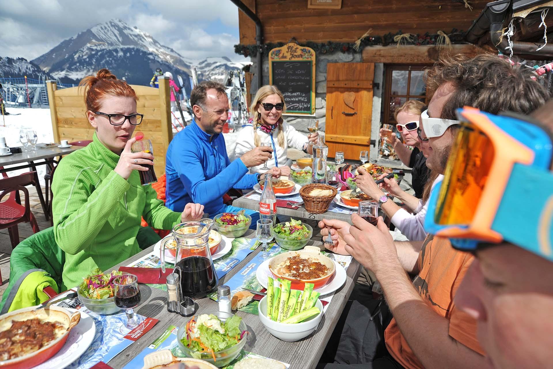 Restaurants sur les pistes