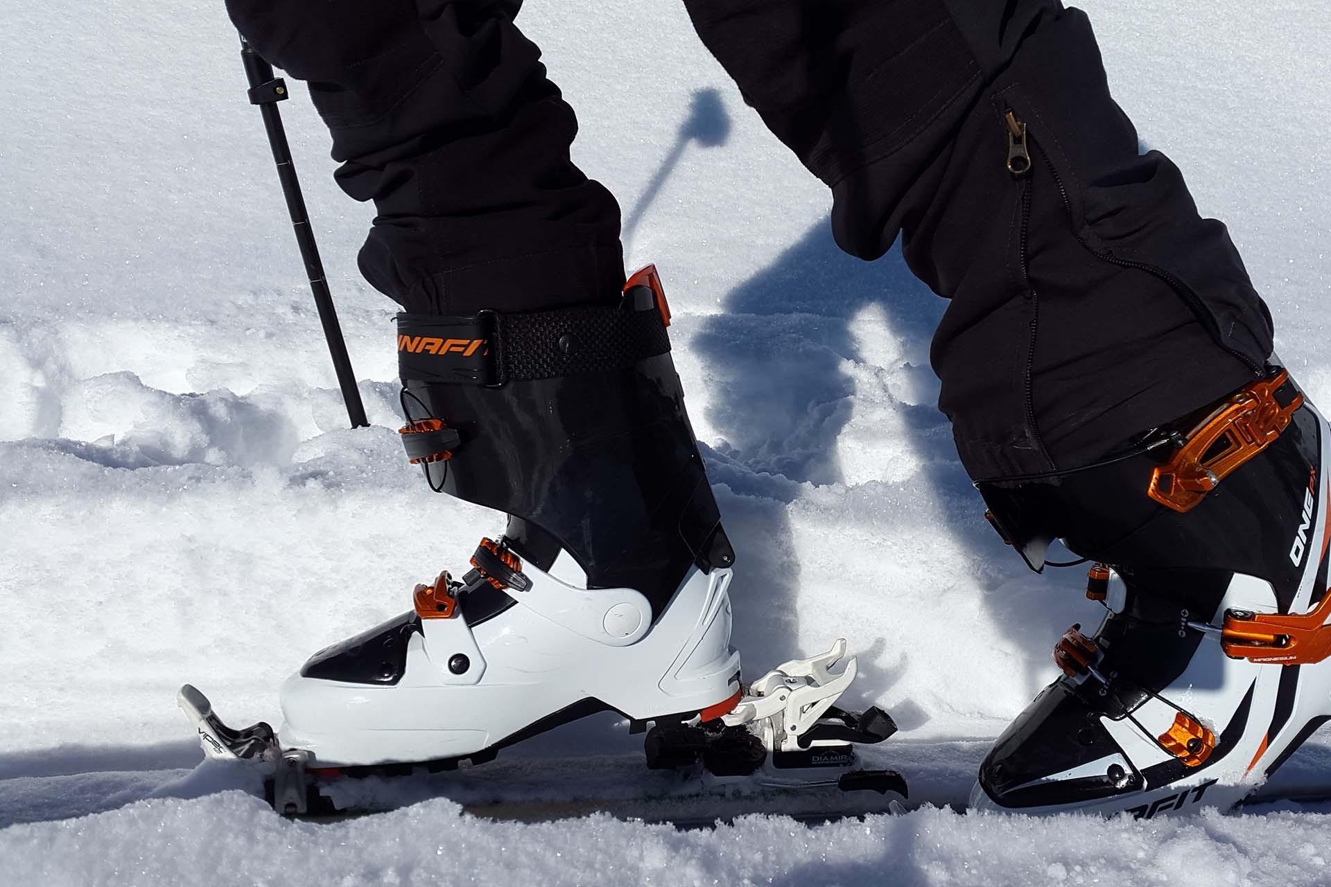 Ski touring equipment rental