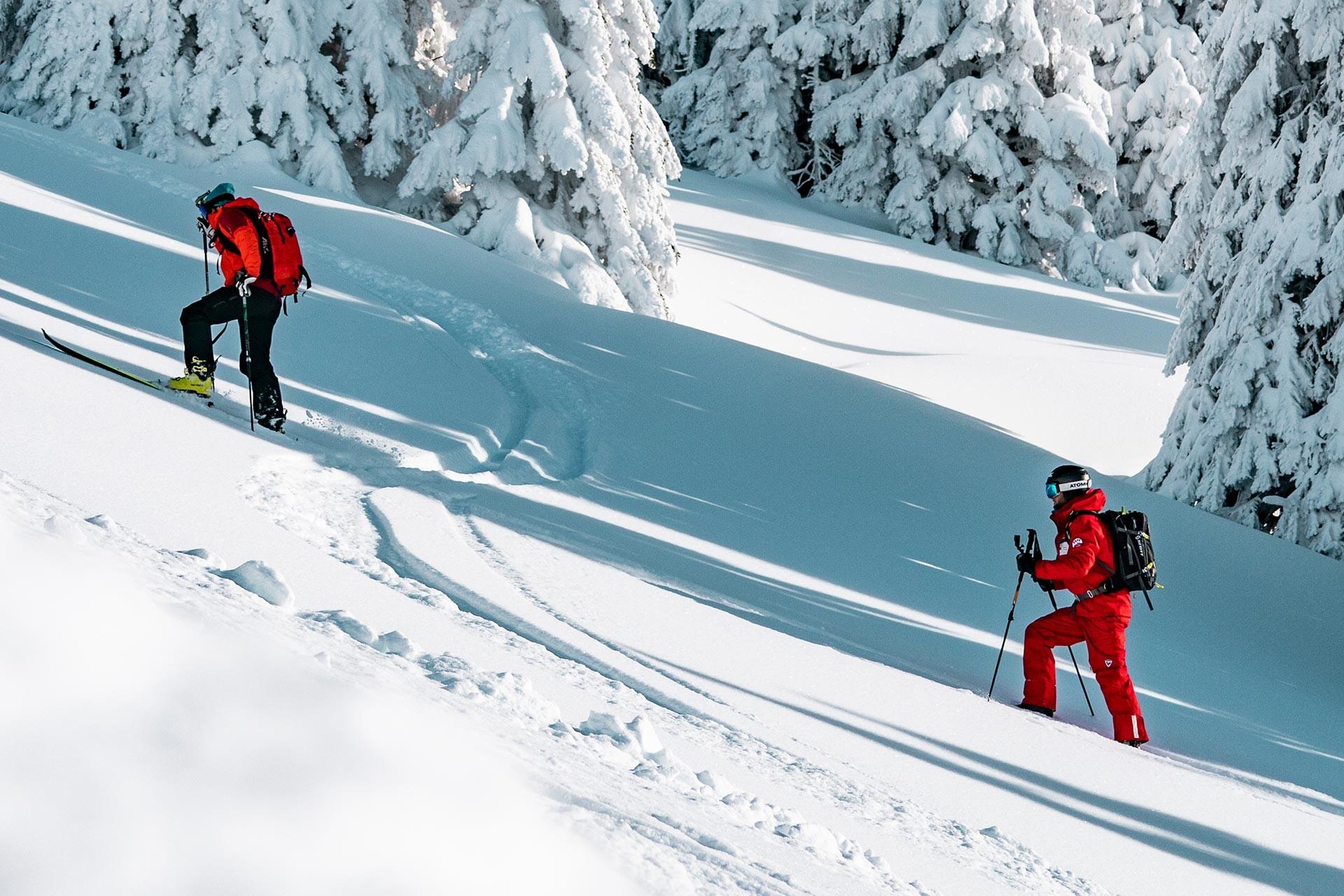 Ski touring lessons