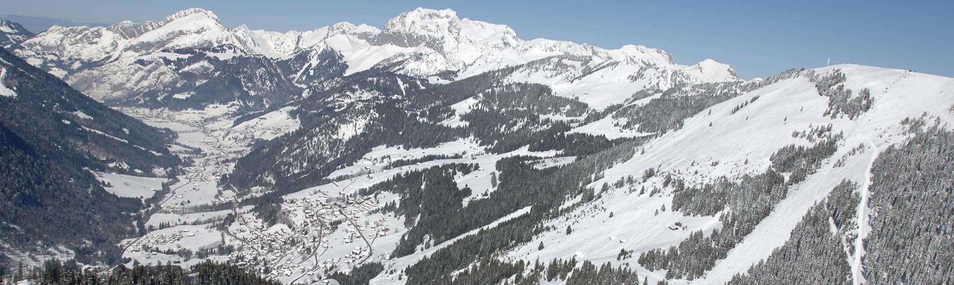 Sur le domaine skiable