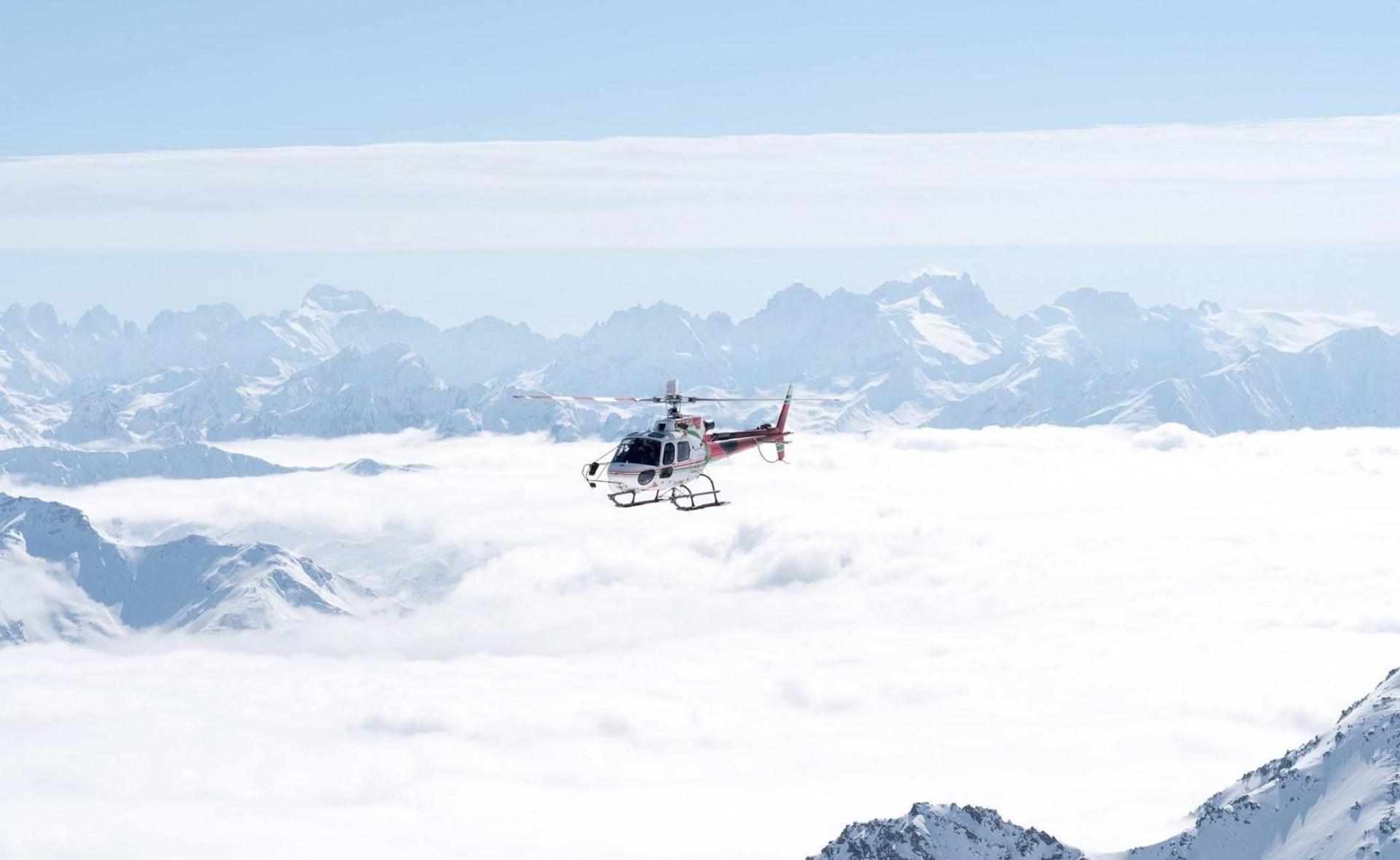 Nouveau : vols en hélicoptère