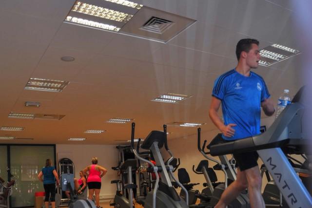 Strength training, fitness and massage