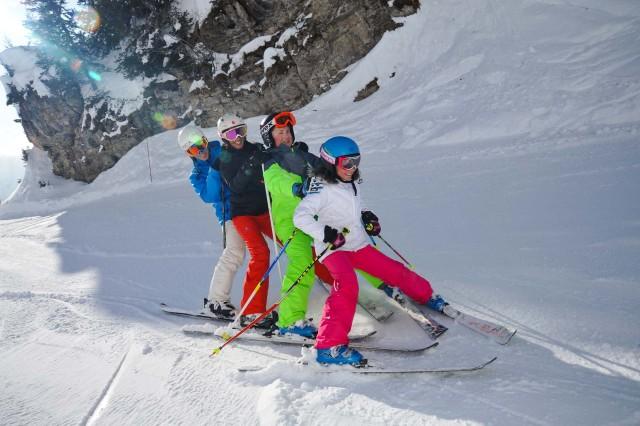 Ski & Slide with the family