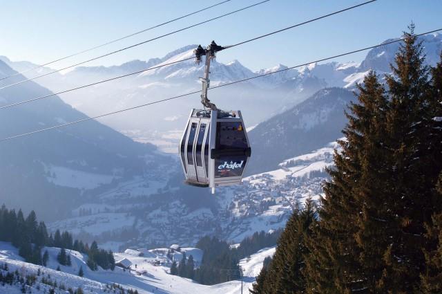 Skiliften voor wanderlaars