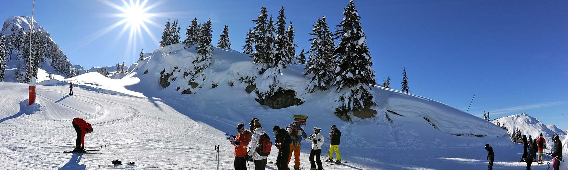 Season ski passes