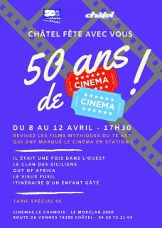 50 ans de cinéma