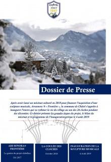 Dossier de presse Ars Sonora ™