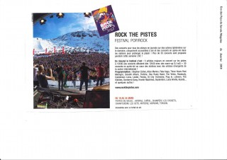 Eco des Pays de Savoie Magazine - Rock the Pistes