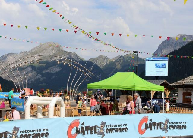 Festival Châtel Retourne en Enfance