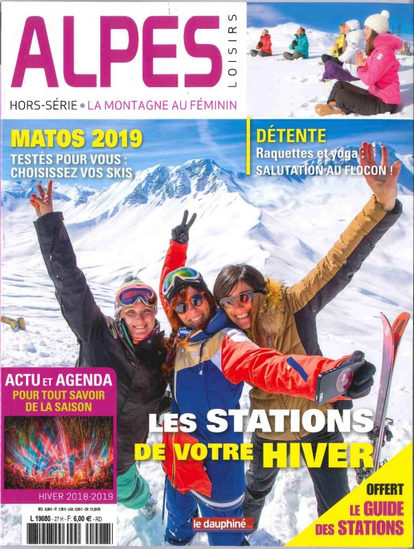 Alpes Loisirs Montagne au Féminin - Hors Série - Hiver 2018.2019