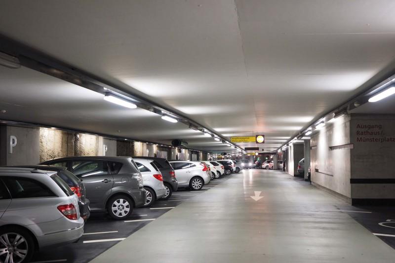 Ouverture caisse du parking