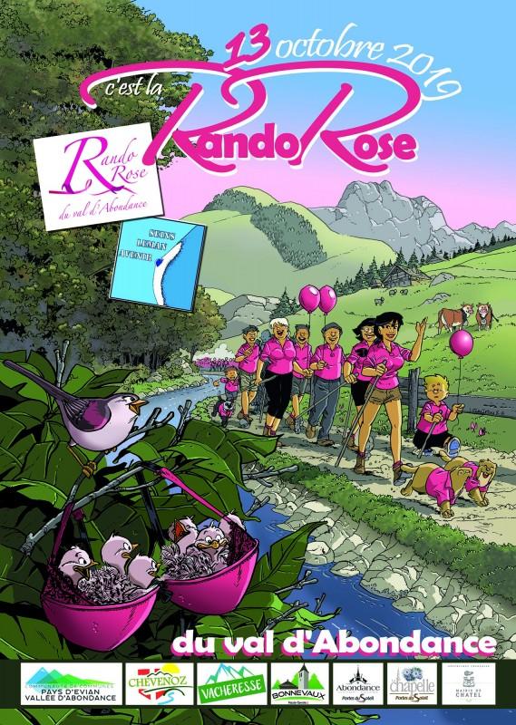 Rando Rose du Val d'Abondance 2019