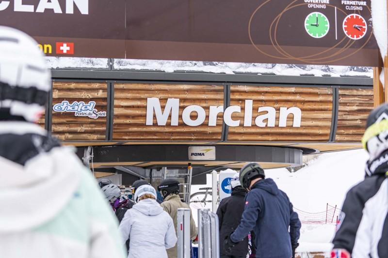 Télésiège du Morclan