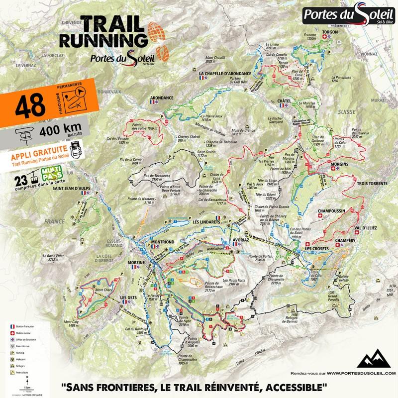 Trail Running Portes du Soleil